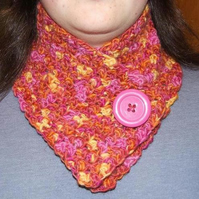 Pink Neckwarmer FOR CHILDREN IN NEED
