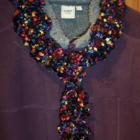 Jewel Ruffle Scarf FOR COMIC RELIEF