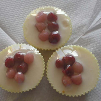 Lemon Zest wax melts with Coconut Icing and Winter Berries FOR COMIC RELIEF