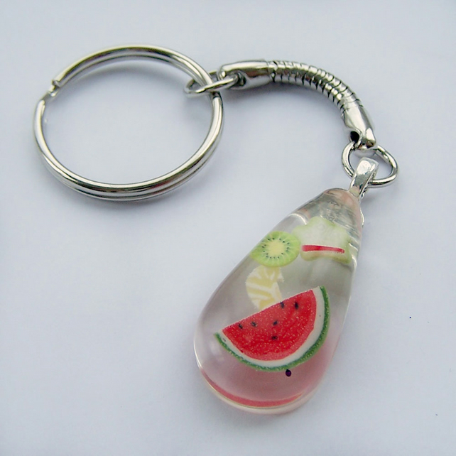 Fruit keyring