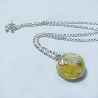 Mixed fruit resin necklace