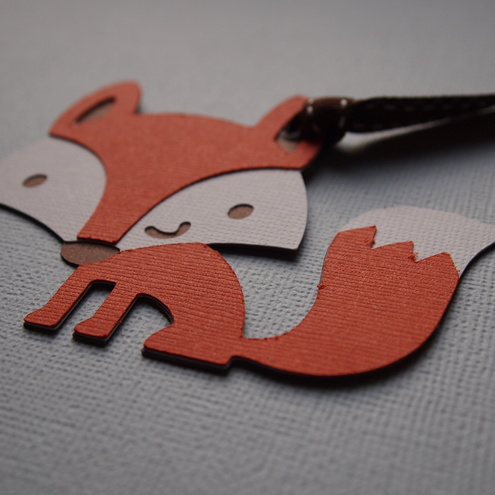 Fox/Vixen Gift Tag