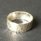 Dimpled Medium Band : Ring