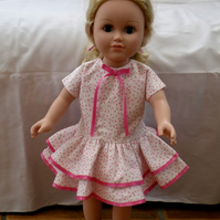 Handmade 18 Inch Dolls Dress