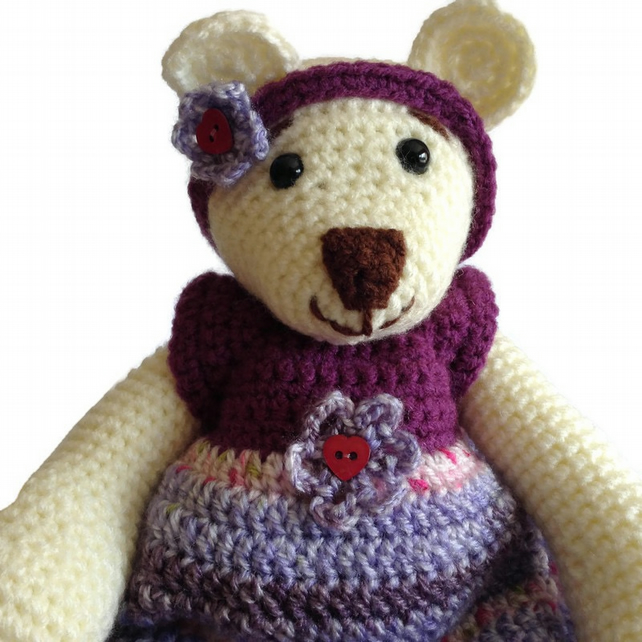 Crocheted Bear
