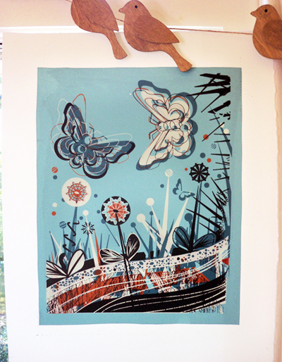 Butterfly - Original Screen Print