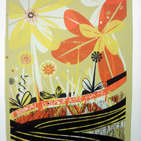 Flower Garden - Screen Print