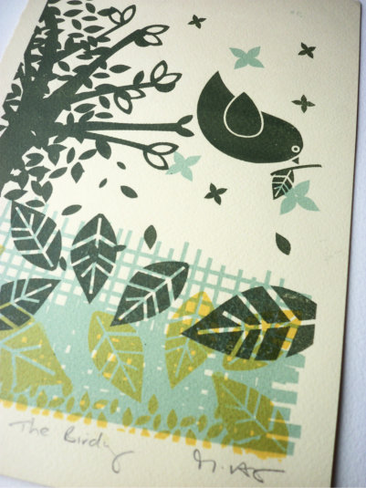 The Birdy -  Screen Print