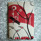 NOTEBOOK - DRAGONFLY - Hand Stitched & Screen Printed