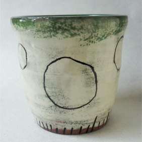 Ceramic Hand Thrown Pot
