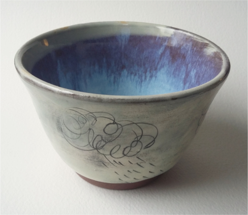Ceramic  - Cloud and Rain Bowl