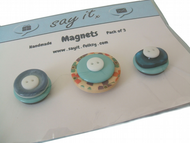 Fun button magnets - Skiddaw