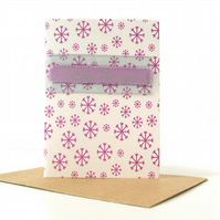 SALE - 4 card pack mini Christmas cards - Luanda