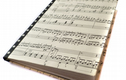 Upcycled sheet music