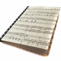 Vintage sheet music notebook - Munich