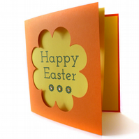 Papercut Easter card - Orongo