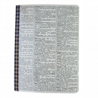 Vintage dictionary notebook - Cartagena