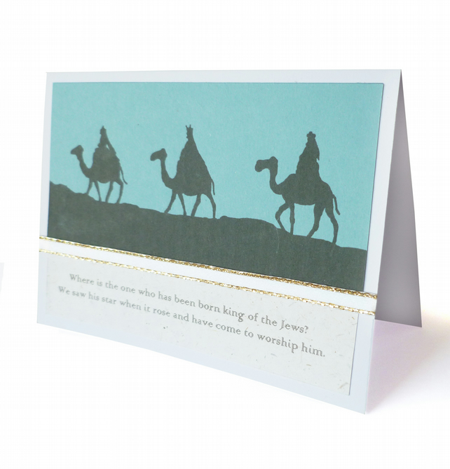 SALE - Three wise men Christmas card - Judea
