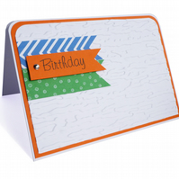 Bright coloured birthday card - Patna
