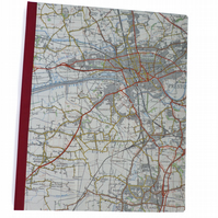 SALE - map notebook Preston