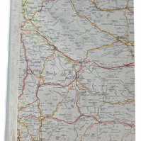 SALE - map notebook Westmorland, Cumbria