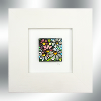 'Daisy Day' - Stained glass Mosaic Artwork