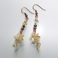 Citrine 'Sunshine Drop' Earrings