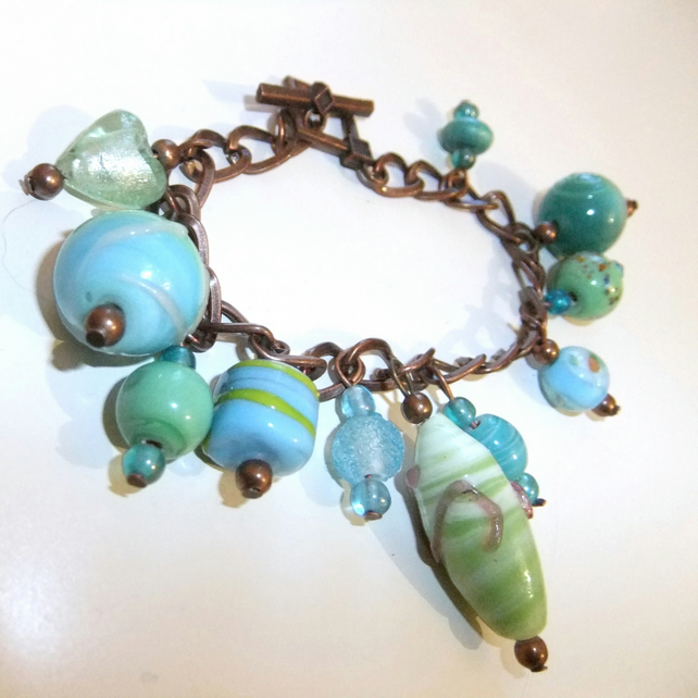 Sea spray charm Bracelet
