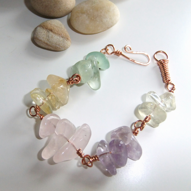 Essence of Summer Gemstone Bracelet