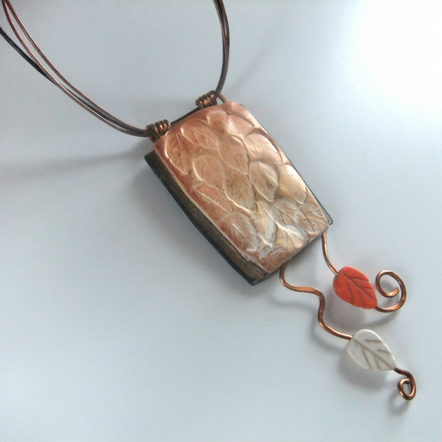 'Falling leaves' Pendant