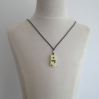 Children's Domino Necklace. (147)