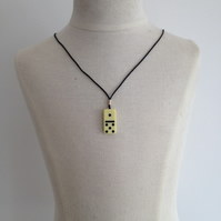Children's Domino Necklace. (148)