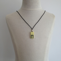 Children's Domino Necklace. (149)