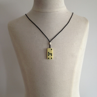 Children's Domino Necklace. (151)