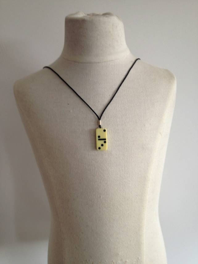 Children's Domino Necklace.