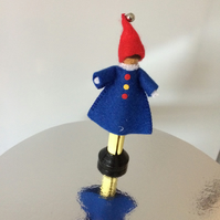 Clown Peg Doll. (355)