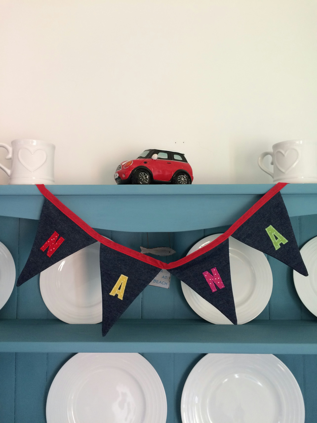 Personalised NANA Bunting. (076)