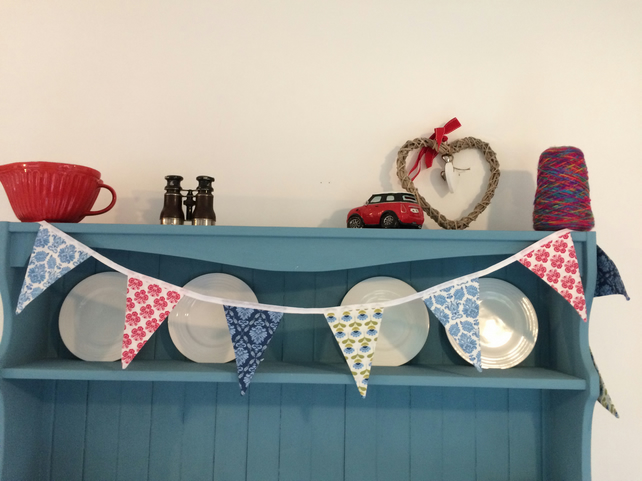 Handmade Cotton Bunting. (427)