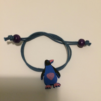 Children's Penguin Bracelet. (165)