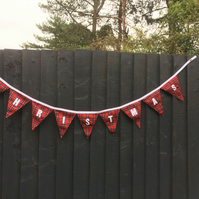 Personalised Bunting CHRISTMAS