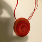 Felt Necklace. (049)