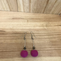 Felt Earrings. (257)