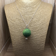 Felt Necklace. (133)
