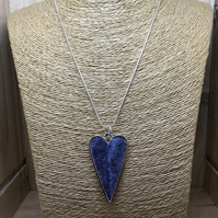 Felt Necklace. (587)
