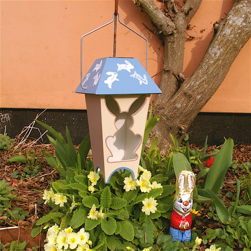 Bunny Rabbit . Design. Solar Lantern.
