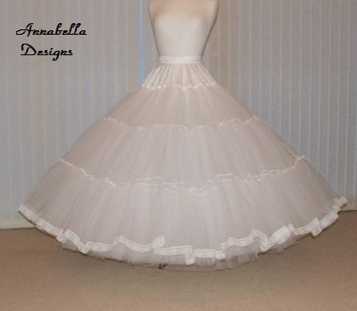 Stiff net custom made 7 Layer bridal petticoat  colour of your choice