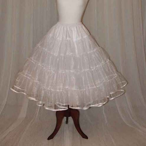 Petticoat 3 layers stiff net overlayer in sparkle net choice of colour
