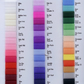 Stiff netting by the mtr all colours available