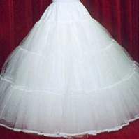 5 layer stiff net petticoat custom made in colour of your choice