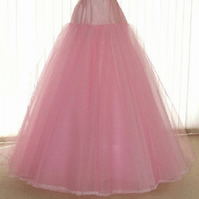 Custom made  3 layer Circular petticoat colour of your choice